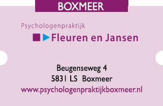 Psyzorg Ad Mosam Psychologenpraktijk Fleuren en Jansen Boxmeer